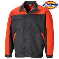 DICKIES Jacke orange/grau