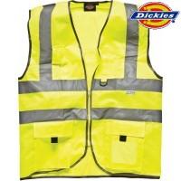 DICKIES Warnweste Taschen gelb